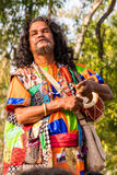 Λαϊκός τραγουδιστής Baul στην Ινδία Στοκ εικόνες με δικαίωμα ελεύθερης χρήσης