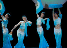 Λαϊκός χορός: Ανεμιστήρας Στοκ Εικόνες