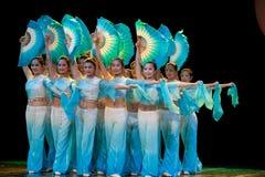 Λαϊκός χορός: Ανεμιστήρας Στοκ φωτογραφίες με δικαίωμα ελεύθερης χρήσης