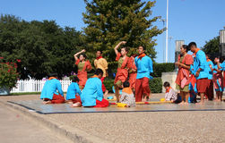 Λαϊκός χορός των Φιλιππινών στοκ εικόνες