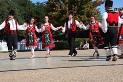 Λαϊκός χορός στοκ φωτογραφία