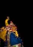 Λαϊκός χορός Navratri Στοκ Εικόνες