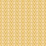 Λαϊκό άνευ ραφής διανυσματικό σχέδιο σύστασης λωρίδων ύφανσης καρδιών τέχνης Φυσικό Boho απεικόνιση αποθεμάτων