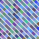 Λαϊκό αναδρομικό μπλε υπόβαθρο τέχνης, διανυσματική απεικόνιση Στοκ φωτογραφίες με δικαίωμα ελεύθερης χρήσης