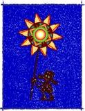 λαϊκό βόρειο αστέρι απεικόνιση αποθεμάτων