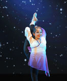 Λαϊκό εκπαιδευτικό μάθημα χορού χορού εκπαιδεύω-βασικό Στοκ φωτογραφίες με δικαίωμα ελεύθερης χρήσης