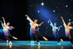 Λαϊκό εκπαιδευτικό μάθημα χορού χορού εκπαιδεύω-βασικό Στοκ Εικόνα