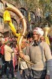 Λαϊκό μουσικό όργανο Himachal - Ranasingha Στοκ Εικόνες