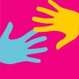 Λαϊκό λογότυπο τέχνης Στοκ Εικόνες