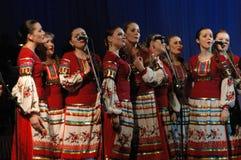 Λαϊκό σύνολο Kazachya Volnitsa Στοκ Εικόνες