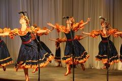 Λαϊκό σύνολο Kazachya Volnitsa Στοκ εικόνα με δικαίωμα ελεύθερης χρήσης
