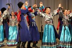 Λαϊκό σύνολο Kazachya Volnitsa Στοκ Εικόνα