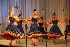 Λαϊκό σύνολο Kazachya Volnitsa Στοκ Φωτογραφίες