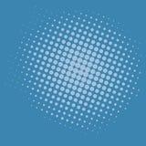 Λαϊκό τέχνης μπλε σχέδιο προτύπων υποβάθρου διανυσματικό Στοκ εικόνες με δικαίωμα ελεύθερης χρήσης