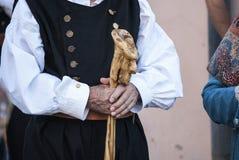 Λαός της Σαρδηνίας Στοκ Φωτογραφίες