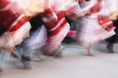 λαός χορού Στοκ Φωτογραφία