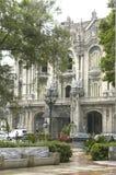 Λα Αβάνα Κούβα, οικοδόμηση στοκ εικόνα
