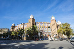 Λα αρενών ταυρομαχίας μνημειακό, Βαρκελώνη, Ισπανία Στοκ εικόνα με δικαίωμα ελεύθερης χρήσης