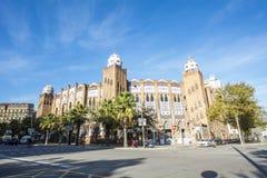 Λα αρενών ταυρομαχίας μνημειακό, Βαρκελώνη, Ισπανία Στοκ Εικόνες