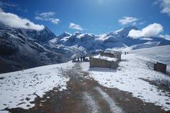 Λα Νεπάλ annapurna thorung Στοκ Εικόνες