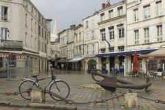 Λα Ροσέλ, μια γαλλική πόλη και ένας θαλάσσιος λιμένας στη δυτική Γαλλία στοκ φωτογραφία με δικαίωμα ελεύθερης χρήσης
