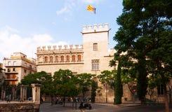 Λα Σέντα Lonja de στη Βαλένθια, Ισπανία Στοκ φωτογραφία με δικαίωμα ελεύθερης χρήσης