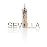 Λα Σεβίλλη giralda απεικόνιση αποθεμάτων