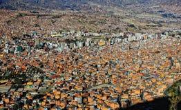 Λα της Βολιβίας paz Στοκ Φωτογραφίες