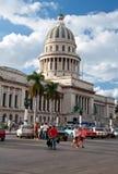 Λα της Κούβας Αβάνα capitol Στοκ Εικόνες