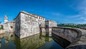 Λα της Κούβας de fuerza Αβάνα castillo πραγματικό Στοκ Εικόνες