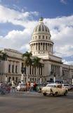 Λα της Κούβας EL Αβάνα capitolio Στοκ Φωτογραφία