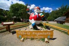 Λα Angostura, Παταγωνία, Αργεντινή βιλών Στοκ Φωτογραφία