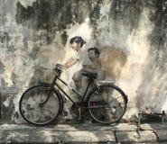 Λα Bicyclette Στοκ φωτογραφία με δικαίωμα ελεύθερης χρήσης