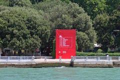 Λα Biennale Di Venezia Στοκ φωτογραφία με δικαίωμα ελεύθερης χρήσης