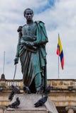Λα Candelaria Μπογκοτά Κολομβία plaza bolívar Στοκ φωτογραφία με δικαίωμα ελεύθερης χρήσης
