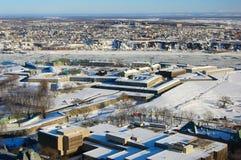 Λα Citadelle de Québec στην πόλη του Κεμπέκ, Καναδάς στοκ εικόνα με δικαίωμα ελεύθερης χρήσης