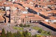 Λα Compania Plaza de Armas σε Cuzco Στοκ Εικόνες