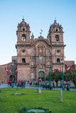 Λα Compania Plaza de Armas, Cuzco Στοκ φωτογραφία με δικαίωμα ελεύθερης χρήσης