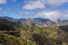 Λα Gomera - Roque EL Cano Στοκ φωτογραφίες με δικαίωμα ελεύθερης χρήσης