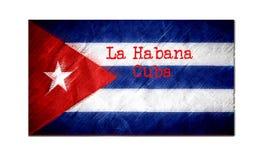 Λα Habana Κούβα διανυσματική απεικόνιση