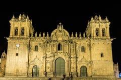 Λα Merced, Plaza de Armas σε Cusco, Περού Iglesia Στοκ φωτογραφία με δικαίωμα ελεύθερης χρήσης