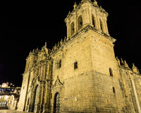 Λα Merced, Plaza de Armas σε Cusco, Περού Iglesia Στοκ εικόνες με δικαίωμα ελεύθερης χρήσης