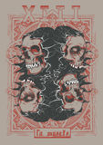 Λα muerte 13 ελεύθερη απεικόνιση δικαιώματος