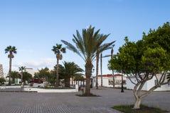 Λα Oliva, Fuerteventura, Κανάριο νησί, Ισπανία Στοκ Φωτογραφία