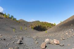 Λα palma ruta de Los vulcanos Στοκ Εικόνες