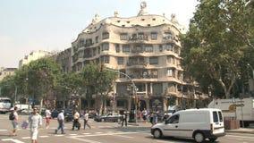 Λα Pedrera, Βαρκελώνη, Ισπανία φιλμ μικρού μήκους