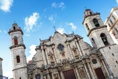 Λα Plaza de catedral στο Λα Habana Στοκ φωτογραφία με δικαίωμα ελεύθερης χρήσης