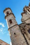 Λα Plaza de catedral στο Λα Habana Στοκ φωτογραφίες με δικαίωμα ελεύθερης χρήσης