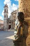 Λα Plaza de catedral στο Λα Habana Στοκ Εικόνες