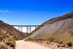Λα Polvorilla Viaducto στοκ εικόνες